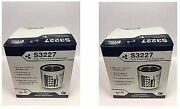 Racor S3227 Filter Repl. 10 Micron Fastship 2 Pack