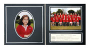 Black Combi Photo Folder For Individual Portrait And Group Combination