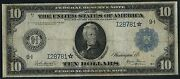 Fr937 10 Star Note 1914 Frn Minneapolis Burke / Glass Only 7 Exist Wlm3323