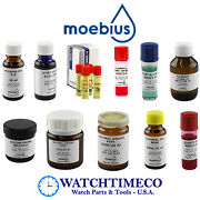 Moebius Oils / Lubricants / Greases For Watches And Clocks Repair