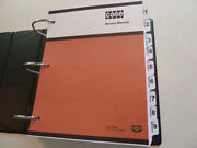 Case 770/870 Tractor Service Manual Repair Shop Book New With Binder