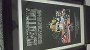 Led Zeppelin The Song Remains The Same Movie Poster Numbered And Framed Good Movie