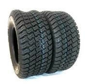 Two 18x9.50-8 Tractor Lawn 18x950-8 4 Ply Rated Lawn Mower Set Of Two Tires