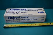 New Fisherbrand Instant Sealing Sterilization Pouch 200 3-1/2 X 9 Case Of 20 Pk