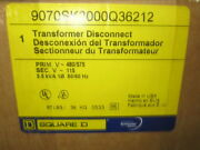 Square D 9070sk3000q36212 Motor Control Transformer Disconnect - New In Box
