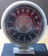 Airguide Vintage Altimeter, Model 608c, 0-15,000 Feet, Made In Usa
