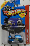 Bump Around Go And Racing Blue 2013 145 Cars Hw Hot Wheels