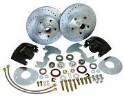 1963-65 Buick Riviera Front Disc Brake Conversion Deluxe Kit With Up-grades