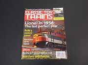 Vintage October 2004 Classic Toy Train Magazine  Model Railroading Vg-cond