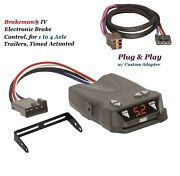 Reese Trailer Brake Control And Adapter For Ford Lincoln Mercury Land Rover