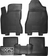 Rubber Carmats For Nissan X-trail T31 2007-2013 All Weather Floor Mats