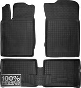 Rubber Carmats For Renault Clio Ii 2000-05 All Weather Floor Mat Fully Tailored