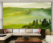 Spring Tuscany Morning Full Wall Mural Photo Wallpaper Print Kids Home 3d Decal