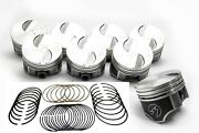 Ford 460 Speed Pro Hypereutectic Flat Top Pistons+cast Rings Kit .040 Oversize