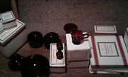 Brand New Avon 1876 Cape Cod Ruby Red Dinner Collection