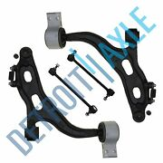 4pc Front Lower Control Arm Kit 2005-2007 Ford Freestyle Five Hundred Montego