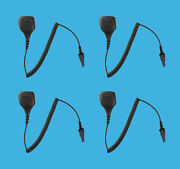 4 Pack Water Resistant Speaker Mic For Kenwood Tk-2180 Tk-3180 Walkie Talkie