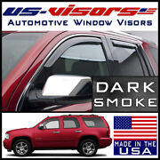 Us-visors 2007-2014 Chevy Tahoe Window In-channel Vent Visors Rain Guards 4-pc