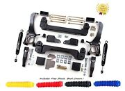Zone 5'' Suspension Lift Kit 2wd T1n Top Rated M/usa For 2007-2015 Toyota Tundra