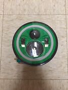 7 Daymaker Green With White Halo Led Light Bulb Headlight For Harley