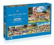 Gibsons Stop Me And Buy One Jigsaw Puzzles 4x500 Pieces