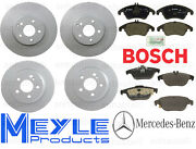 Brake Kit Mercedes E400 2dr And Convertible 15-16 W/o Sport Package Rotor Pads New