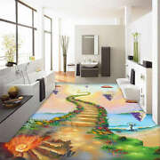 Magic Stairs To Sky 3d Floor Mural Photo Flooring Wallpaper Home Kids Wall Decal