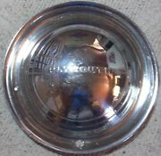 1949 Thru 1950 Plymouth 15 Inch Stainless Steel Hubcap Wheel Cover Original