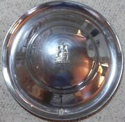 1953 Plymouth 15 Inch Hubcap Wheel Cover Stainless Steel Original P/nand039s 1408539