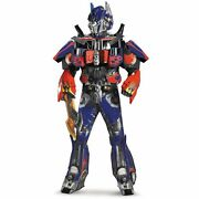 Transformers Optimus Prime Costume Adult Deluxe Theatrical Halloween Collectors