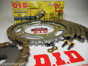 Triumph 1050 Speed Triple 2005-10 Did Gold 530 X-ring Chain And Sprocket Kit Oem