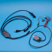 5 In 1 Rs232 Programming Cable For Motorola Cp180 Cp200 Ep450