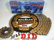 Zx-10r And03911-15 Zx10 Supersprox / Did Zvmx 520 Chain And Sprockets Kit Oemqafwy