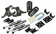 1973-87 Chevy C10 Deluxe Lowering Kit - 5.5 Front 7 Rear - Extreme Slam Kit