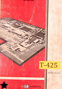 Tos Sus Sss 63-80 Lathe Operations Service And Parts Manual Year 1974