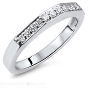 Vs2/d 1.54 Tc White Gold Enhanced Round Bridal Diamond Ring Solitaire Accents