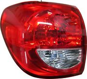 Fit Toyota Sequoia 2008-2017 Left Driver Outer Taillight Tail Light Rear Lamp