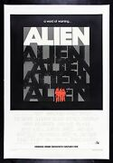 Alien ✯ Cinemasterpieces Rare Rolled Advance Sci Fi Horror Movie Poster 1979