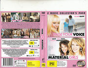 Raise Your Voice-2004 / Material Girls-2006-hilary Duff-2 Movie-2 Dvd