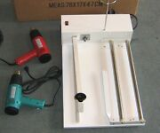 Ska-600 One Step Sealer Cutter For Plastic Bags To 600mm 23 Inch Max And Heat Gun