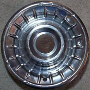 1956 Cadillac Coupe Deville Fleetwood Hubcap Wheel Cover 15 Inch Oem Made Usa