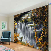 Slightly Cold Water 02 3d Curtain Blockout Photo Print Curtains Fabric Window
