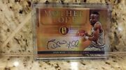 2016-17 Panini Gold Standard Spud Webb Mother Lode Auto And039rd