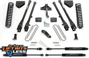Fabtech K2157m 6 4 Link Stealth Shocks For 2011-2013 Ford F-450/f-550 4wd