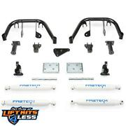 Fabtech 8 Multiple Front Shock Sys. W/per. Shocks For 2008-10 Ford F-250/f-350