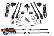 Fabtech K2219 6 4 Link Systems W/performance Shocks For 2017 Ford F250/f350 4wd