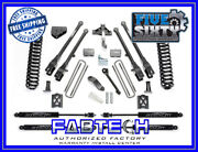 Fabtech K2013m 6 4 Link System W/ Stealth Shocks For 2005-07 F250 4wd
