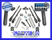 Fabtech K20131 6 4 Link System W/ Per. Shocks For 2005-07 Ford F250 4wd