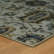 Andorra By Oriental Weavers. Traditional Oriental Area Rug. Blue/navy 7120a