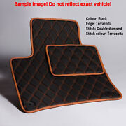 Luxury Bespoke Leather Car Floor Mats Fully Tailored Fit Acura Mdx 2007-2012 5p